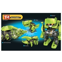 OWI Robotics 4 in 1 Transforming Solar Robot Kit