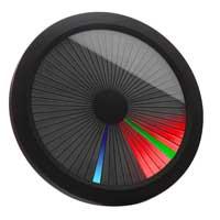 Thinkgeek Chromatic LED Clock