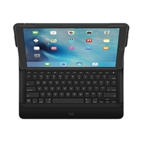 Logitech CREATE Backlit Keyboard Case w/ Smart Connector for iPad Pro - Black