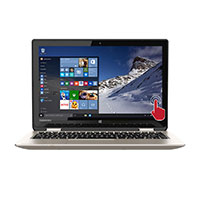 "Toshiba Satellite Radius 11 11.6"" 2-in-1 Laptop Computer Refurbished - Satin Gold"