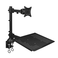 SIIG Full Motion Articulating Monitor & Laptop Desk Mount