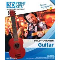 Avanquest 3D Print Kits: Build Your Own Guitar