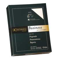 Southworth 25% Cotton Business Paper White