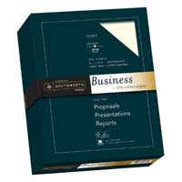 Southworth 25% Cotton Business Paper Ivory