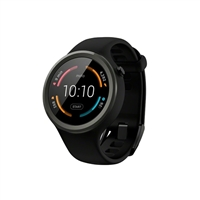 Motorola Moto 360 Sport 42mm Smartwatch 2nd Gen. - Black