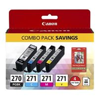 Canon PGI-270/CLI-271 Photo Paper Combo Pack