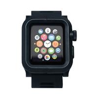 Lunatik EPIK Polycarbonate Case for Series One Apple Watch 42mm - Black