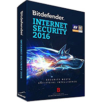 Bitdefender Internet Security 2016 - 1 Device, 1 Year (PC)