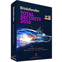 Bitdefender Total Security 2016 - 1 Device, 1 Year (PC)