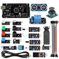 SainSmart 21 in 1 SainSmart Mega2560 R3 Sensor Modules Starter Kit for Arduino