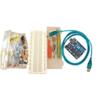 Gheo Electronics Kit Workshop with Arduino UNO Board - Base Level