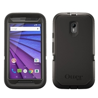 Nite Ize Defender Case for Motorola G 3rd Generation Black