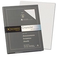 Southworth Granite Specialty Paper Gray