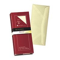 Southworth #10 Resume Envelopes Ivory