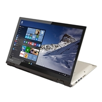 "Toshiba Satellite Radius 15 15.6"" 2-in-1 Laptop Computer Refurbished - Brushed Metal"
