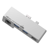 Bidul USB 3.0 Hub w/ Ethernet Adapter & DisplayPort for Surface Pro 3