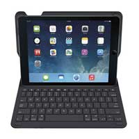 Logitech (Refurbished) Type+ Keyboard Folio Case for iPad Air - Black (920-006909)