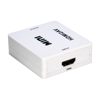 QVS HDMI to Composite Video & Stereo Audio Converter