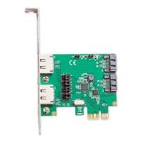 Syba 2 Port SATA III RAID PCI-E 2.0 x1 Controller Card