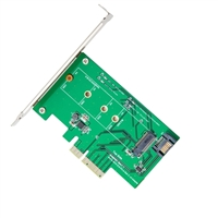 IOCrest M.2 to PCI-e x4 SSD Adapter with SATA III Support