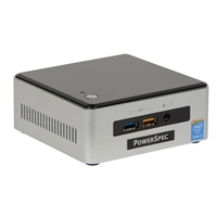 PowerSpec NUC1 I55250U Barebones PC