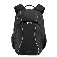 "Sumdex Campus Mobile Essentials Backpack Fits up to 15.6"" - Black"