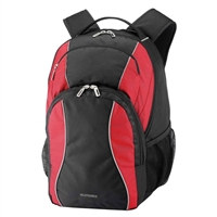 "Sumdex Mobile Essentials Campus Backpack Fits up to 15.6"" - Red"