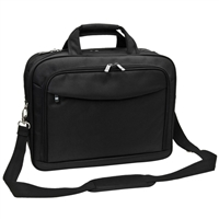 "Sumdex Check-Quick Briefcase Fits up to 16"" - Black"