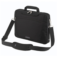 "Sumdex Passage Single Compartment Brief Case Fits up to 15.6"" - Black"
