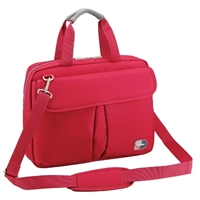 "Sumdex Passage Notebook Brief Case Fits up to 13.3"" - Red"