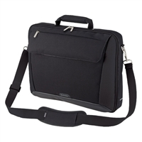 "Sumdex Passage 17"" Single Compartment Brief Case Fits up to 17"" -Black"