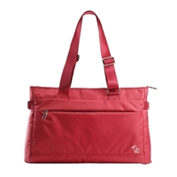 "Sumdex Neo Metro Soft Shoulder Tote Fits up to 15.6"" - Red"