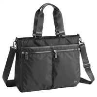 "Sumdex Soft Working Tote Fits up to 14.1"" - Jet Black"