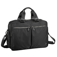 "Sumdex Soft Travel Brief Laptop Case Fits up to 15.6"" - Black"