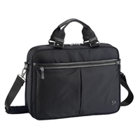 "Sumdex Soft Essential Brief Case Fits up to 14.1"" - Black"