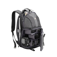 "Sumdex NJC-486BK DSLR 14.1"" Camera Backpack - Black"