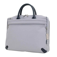 "Sumdex She Rules Meg Cosmo Briefcase Fits up to 15.4"" - Pearl Gray"