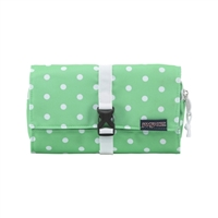 Jansport Matrix Accessory Pouch - Seafoam Green/White Dots