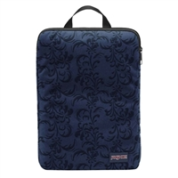 "Jansport Laptop Sleeve Fits up to 15"" - Navy Splendid/Vine Flock"
