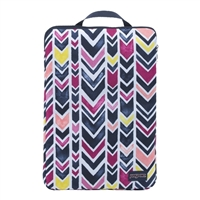 "Jansport Laptop Sleeve Fits up to 15"" - Navy/Watercolor Chevron"