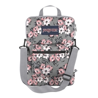 "Jansport SuperBreak Laptop Sleeve Fits up to 15"" - Coral Sparkle/Pretty Posey"