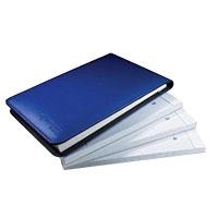 """Livescribe Flip Notebook 3"""" x 5"""" 4-Pack - Blue"""