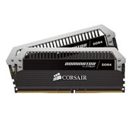 Corsair Dominator Platinum 16GB 2 x 8GB DDR4-3200 PC4-3200 CL16 Quad Channel Desktop Memory Kit