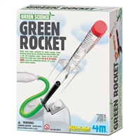 Toysmith Green Science Green Rocket