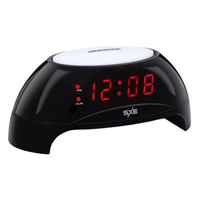 SXE LED Sunrise Simulator Night Light Alarm Clock with USB Charging, 0.6""