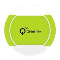 Qi-infinity Ultra Slim Charge Pad Green