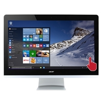"Acer Aspire AZ3-715-UR52 23.8"" Touchscreen All-in-One Desktop Computer"