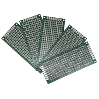 Wicked Device 3x7cm Blank PCB - 5 pack