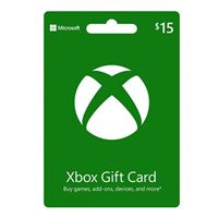 InComm Xbox gift card $15
