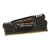 EVGA SuperSC 16GB 2 x 8GB DDR4-2400 PC4-19200 CL15 Dual Channel Desktop Memory Kit